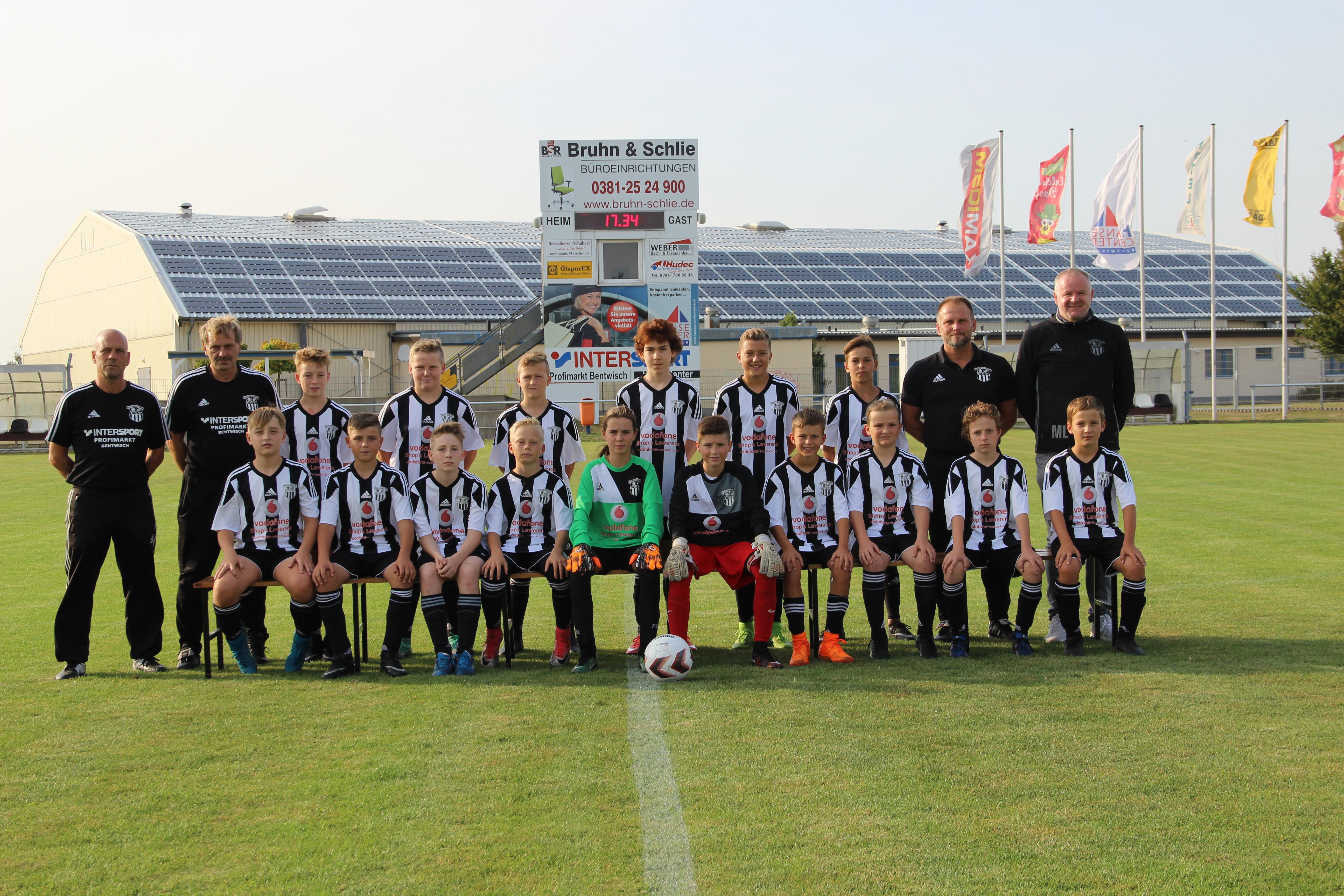 Mannschaftsbild D1-Jugend - FSV-Bentwisch